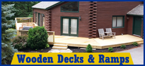 Porch and Deck Contractor in Worcester MA | Astonishing Decks, LLC| Disability Ramp - Construction Company