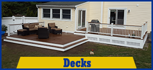 Porch and Deck Contractor in Worcester MA | Astonishing Decks, LLC | Deck - Construction Company